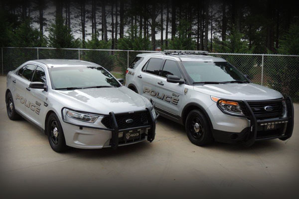 City of Gray Police Vehicles